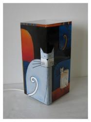 Amorf macskák meselámpa